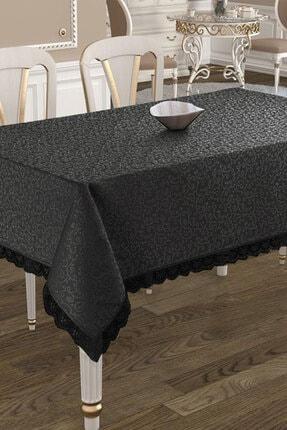Çeyiz Diyarı Kdk Dertsiz Masa Örtüsü  - Siyah 0