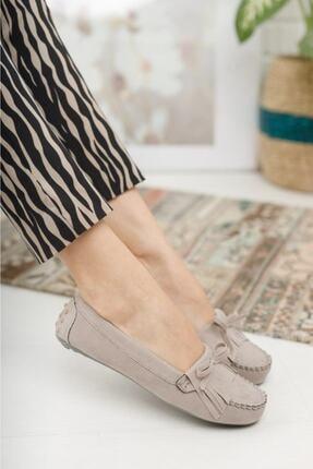 Beyond Kadın Bej Püsküllü Günlük Casual Sneaker Babet Ayakkabı Byndmot03 0