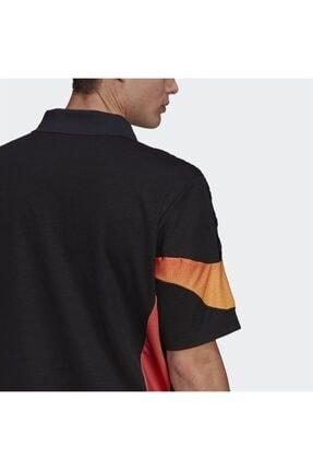 adidas Erkek Siyah Spor T-shirt 4