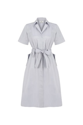 İpekyol Piliseli Gömlek Elbise 4