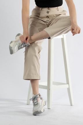 Tripy Kadın Dolgu Taban Günlük Sneaker Ayakkabı 2