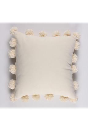 Bc Home Polar Ponponlu Dekoratif Yastık Kılıfı 0