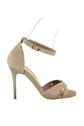 Fox Shoes Ten Kadın Topuklu Ayakkabı B922113702 1