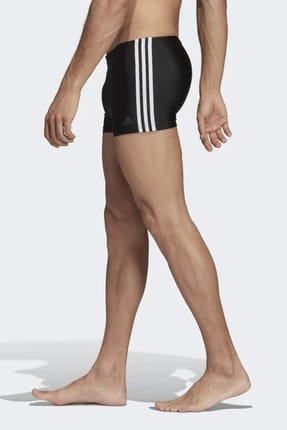 adidas Erkek Siyah Yüzücü Mayo Fıt Boxer 3S DP7533 1