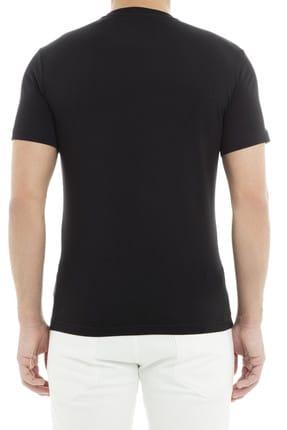 EA7 Erkek Siyah  T-Shirt 1
