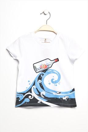 Best Pirate Kısa Kol T-Shirt Beyaz 15Yentsrt127_00-0001 resmi
