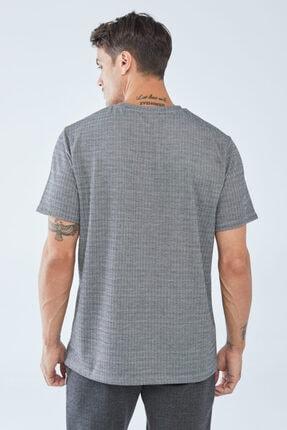 Boris Becker Erkek Kazayağı Desenli  T-shirt 2