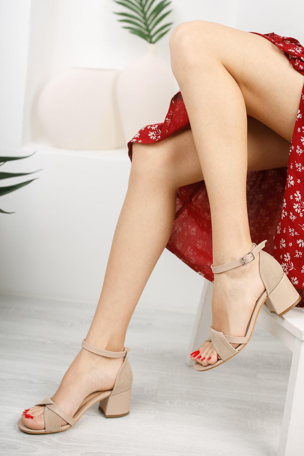 Kadın Nude Günlük Sandalet