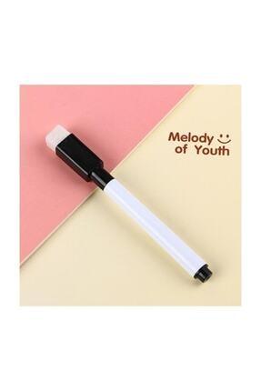 Airbar 10 Adet Silgili Akıllı Beyaz Tahta Kalemi - Silinebilir Siyah Renk Tahta Kalemi 3