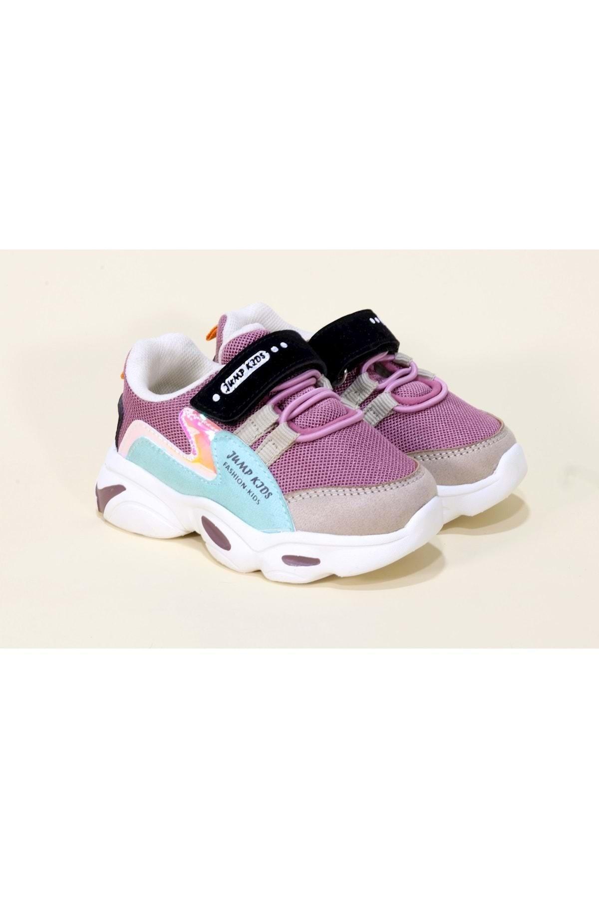 Kız Çocuk Mor 25833 Ortopedic Spor Ayakkabı 21