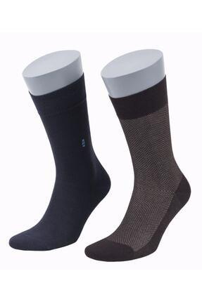 DAYCO Bambu Yazlık Asorti Premium Erkek Çorabı 8 Çift 2