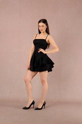 LAST LEO Siyah Elbise 1