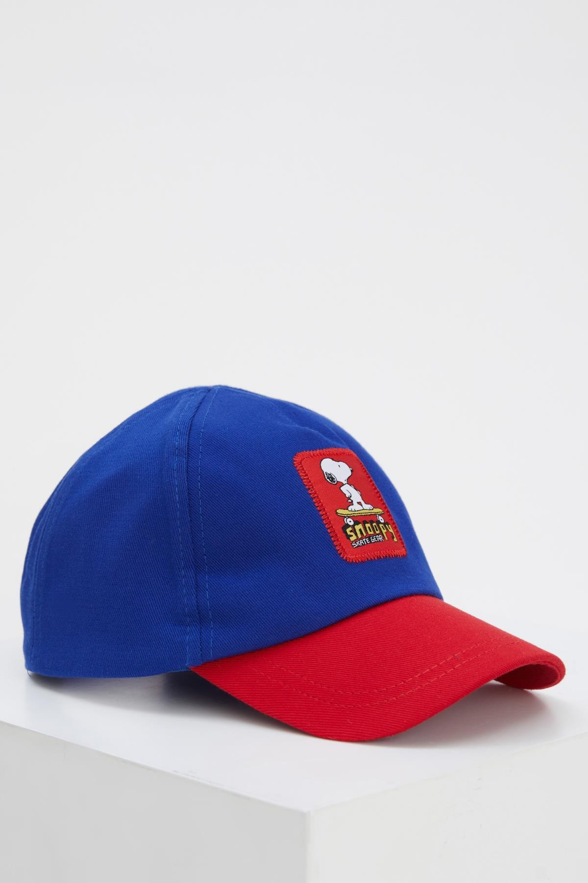 Erkek Çocuk Snoopy Lisanslı Baseball Şapka