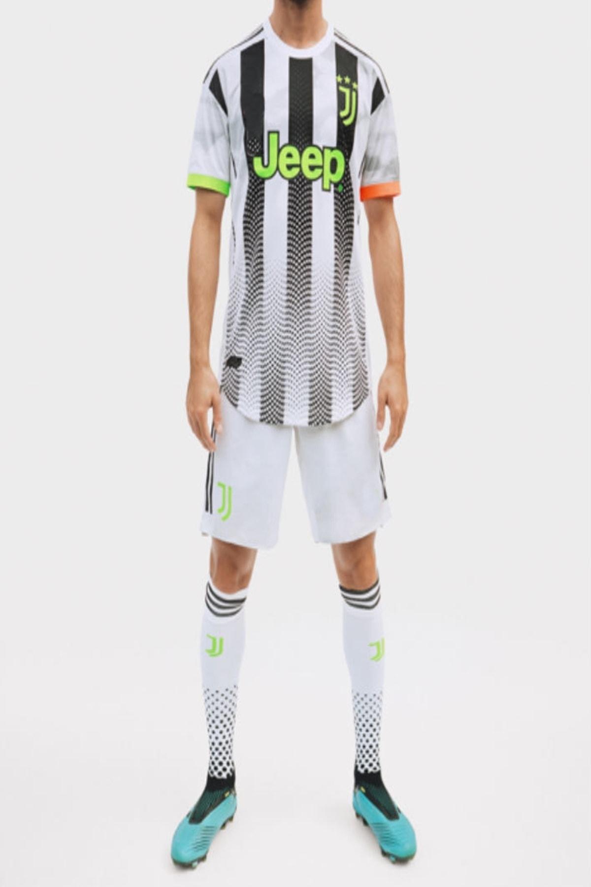Erkek Siyah Juventus Ronaldo Forma Ve Şort Takımı