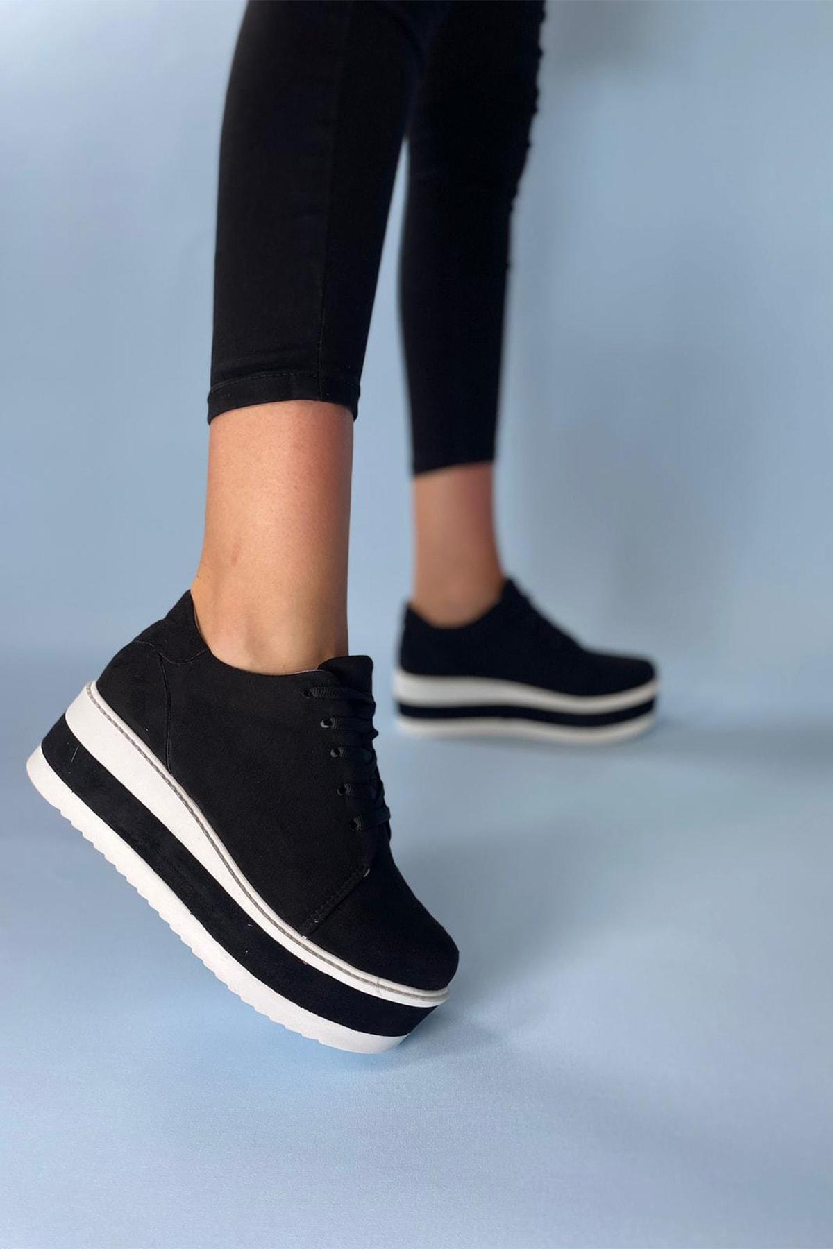 Dolgu Topuklu Ayakkabı