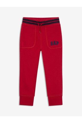 GAP Erkek Bebek Kırmızı Logo Jogger Eşofman Altı 0