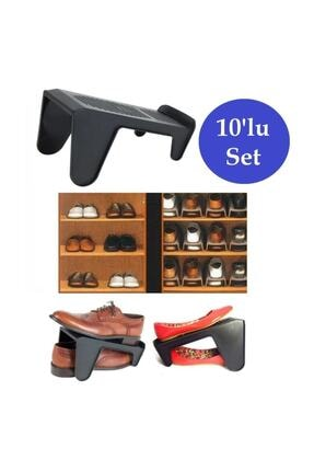 Meleni Home 10'lu Tekli Ayakkabı Düzenleyici Rampa 1