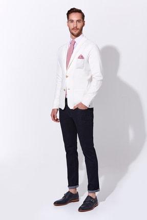 Hemington Erkek Beyaz Triko Ceket 1