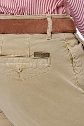 Hemington Erkek Kum Rengi Yazlık Chino Pantolon 4