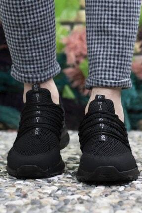 Riccon Erkek Siyah  Sneaker 0012180 4