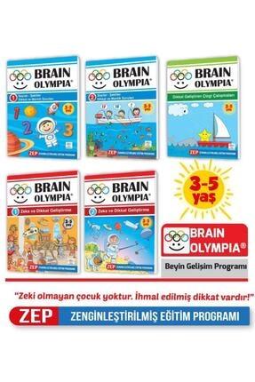 Yükselen Zeka Yayınları Brain Olympia ( Beş Kitap Bir Arada) 0