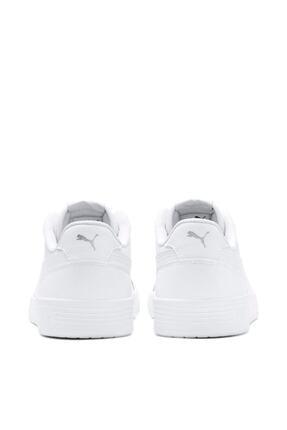 Puma CARACAL Beyaz Unisex Sneaker Ayakkabı 100480549 1