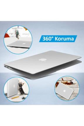 "CODEGEN Apple 13"" Macbook Air 2020 (m1) A2337 Şeffaf Kılıf Koruyucu Kapak Cmatm-133t 4"