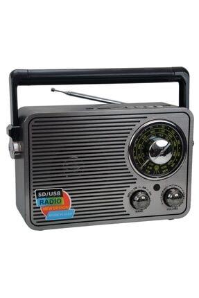 Nostaljik Radyo Müzik Çalar 1176bt Bluetoothlu Fm Radyo Mp3 Çalar PRA-3436628-2473