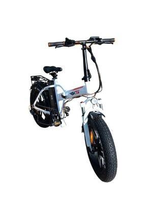 RKS Rs3 Pro Katlanabilir Elektrikli Bisiklet Beyaz 1