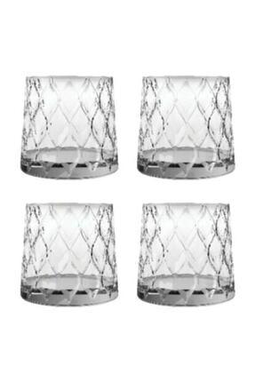 Paşabahçe Leafy Viski Bardağı 4 Adet 420194 Cam Bardak 1