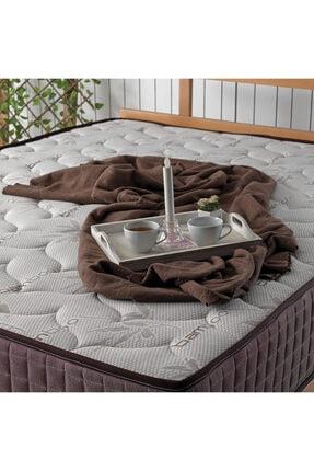 US. SLEEPING Kahve Full Ortopedik Bamboo Classic Yaylı Yatak 1
