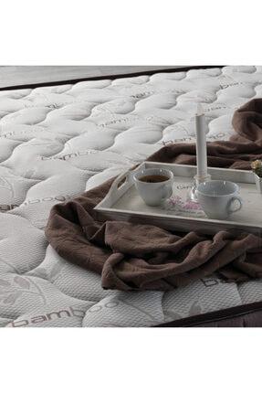US. SLEEPING Kahve Full Ortopedik Bamboo Classic Yaylı Yatak 3