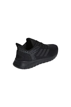 adidas F36333 Asweerun Koşu Ve Yürüyüş Erkek Spor Ayakkabı Siyah 2