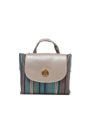 TH Bags Kadın / Kız Sırt Çantası Sırt Çizgili Kumaş - Th25300 2