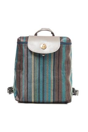TH Bags Kadın / Kız Sırt Çantası Sırt Çizgili Kumaş - Th25300 3