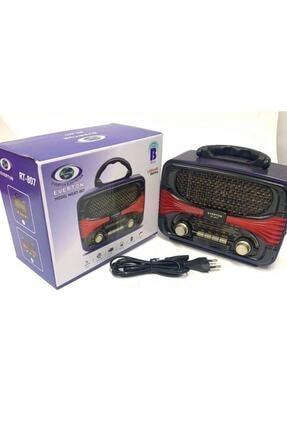 Bluetoothlu Nostaljik Görünümlü Radyo Müzik Çalar rt807everton