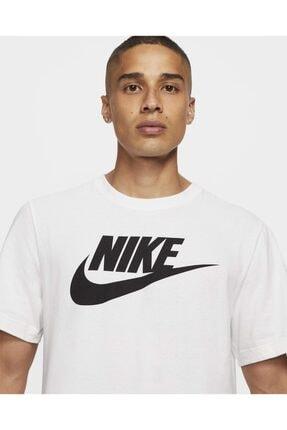 Nike BV0622-100 Sportswear Beyaz Unisex T-shirt 3