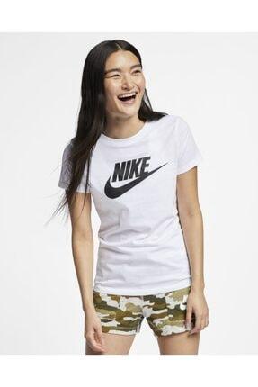 Nike BV0622-100 Sportswear Beyaz Unisex T-shirt 4