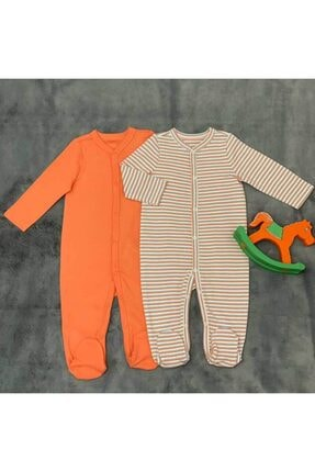 PİEROSBABY Pieros Baby 0060 Erkek Bebek 2'li Tulum 0