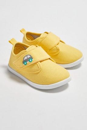 LC Waikiki Erkek Bebek Sarı Crk Sneaker 1