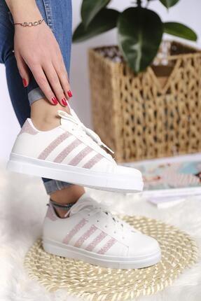 Oksit Lara Şeritli Kadın Sneaker 1