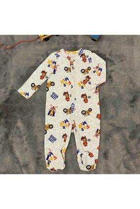 PİEROSBABY Pieros Baby 0062 Erkek Bebek 2'li Tulum 2