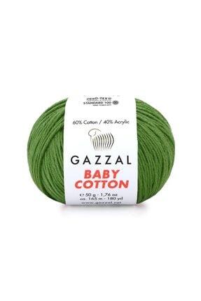 Gazzal Baby Cotton Amigurumi Ipi 50 Gr El Örgü Ipi Punch Ipi 3449 2