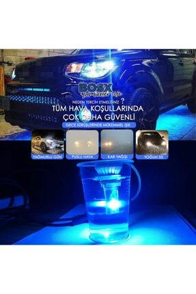C9 Bosx Iceblue Buz Mavi Led Xenon Far Ampulü 4400lm 10000k H4 3