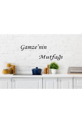 MO-KA HOME Gamzenin Mutfağı Isimli Mutfak Ahşap Duvar Dekoru 0