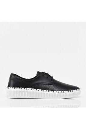 Hotiç Siyah Yaya Kadın Günlük Ayakkabı 0