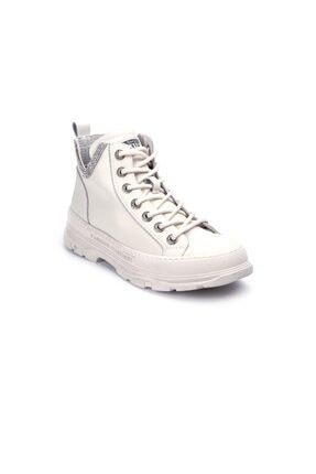 Guja Kadın Beyaz Bağcıklı Sneaker 1