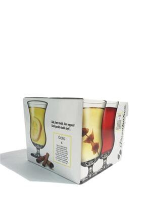 Paşabahçe 440221 Ayaklı Gala Çay Bardağı 4'lü 1