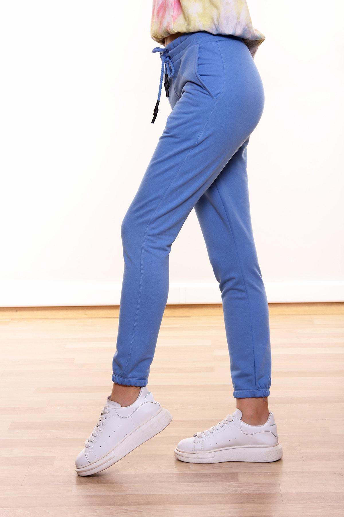 MARIQUITA Mari Joging Şardonlu Pantolon