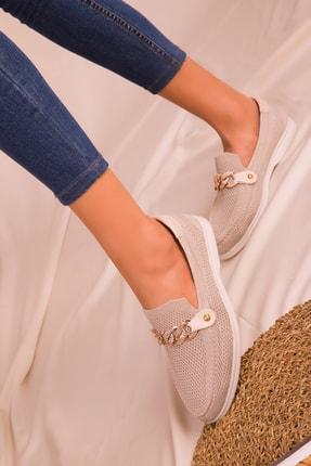 Soho Exclusive Bej Kadın Casual Ayakkabı 16108 1